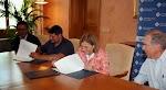 Firma del convenio con la UIB