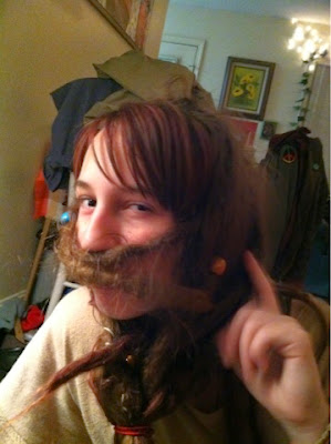 dreads, dread head, purple hair, hippie, funny hair