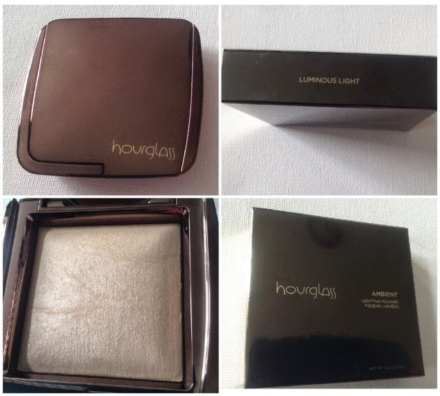 Ambient powder, hourglass powder