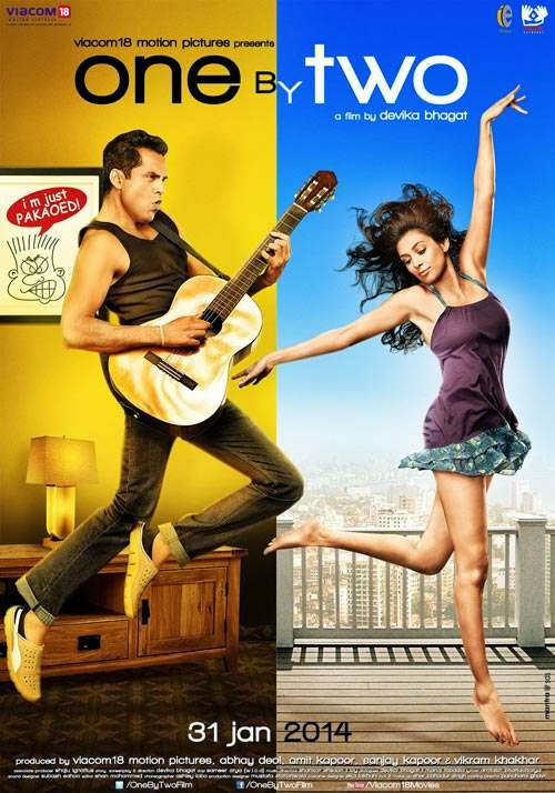 Cover of One By Two (2014) Hindi Movie Mp3 Songs Free Download Listen Online at Alldownloads4u.Com