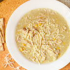 Green Chile Enchilada Soup