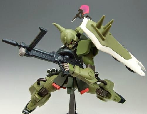 Tạo ra nhiều tư thế đẹp mắt cho Zaku Warrior HG Gundam Seed tỷ lệ 1/144