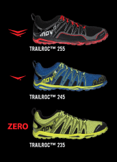 Inov-8 Trailroc 235, 245, and 255