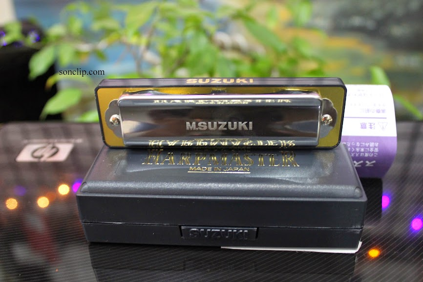 Kèn Harmonica - Suzuki HarpMaster MR-200 (key C)