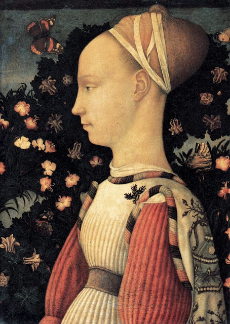 Pisanello - Portrait of a Princess of the House of Este