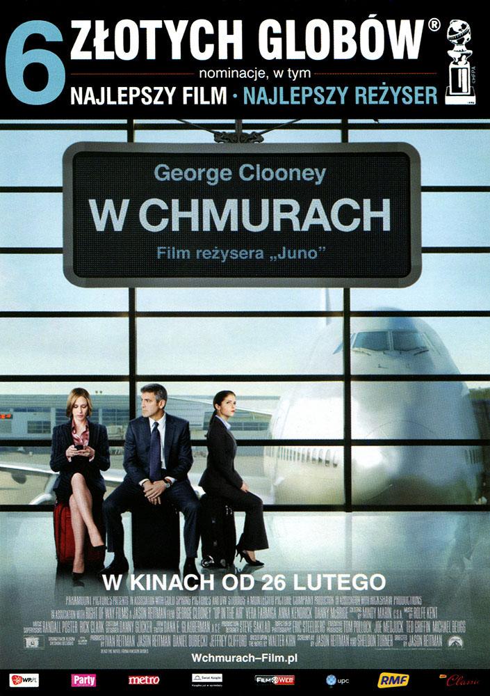 Ulotka filmu 'W Chmurach (przód)'