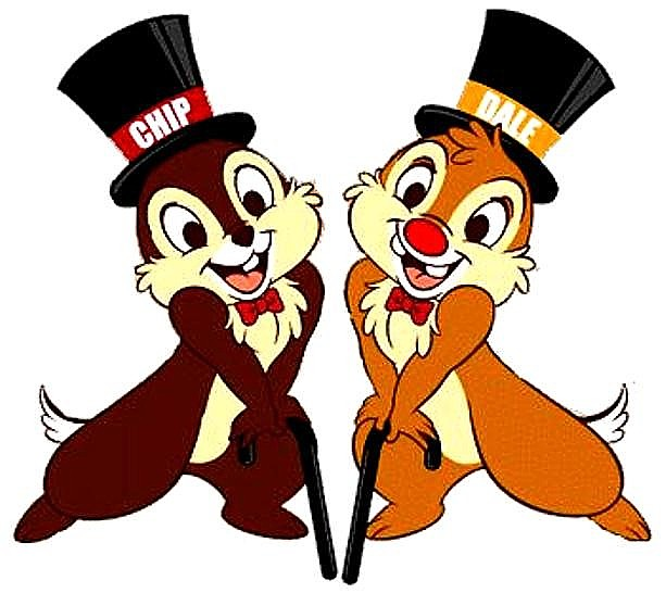 Chip and Dale Cartoons