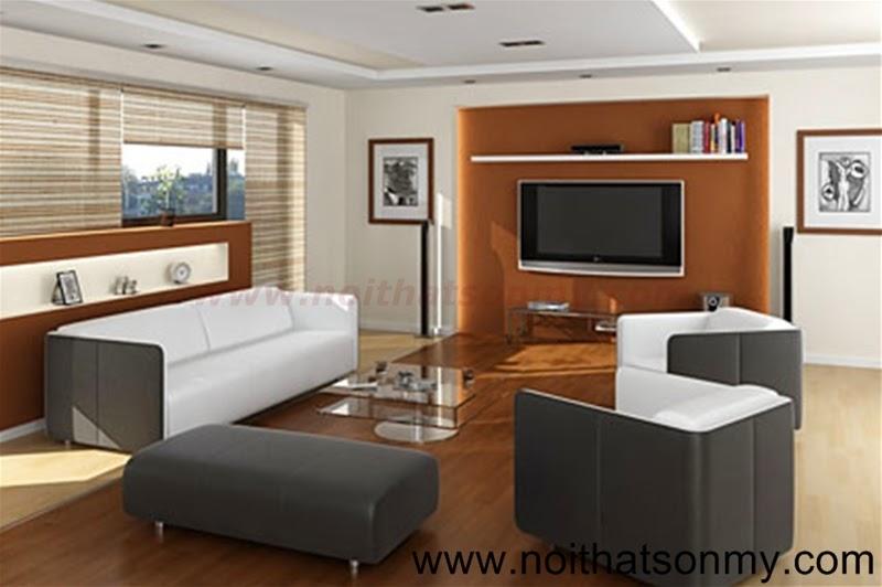 Mẫu thiết kế nội thất phòng khách 343