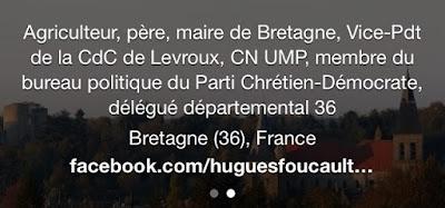 Hugues Foucault, suceur de conneries