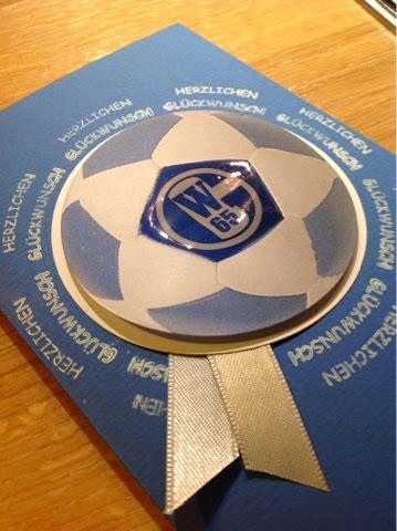 Geburtstagskarte Schalke 04