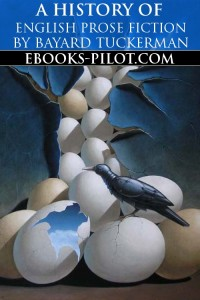 Cover of A History Of English Prose Fiction