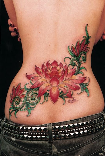 flower tattoos for girls