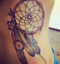 dreamcatcher tattoos on side 7