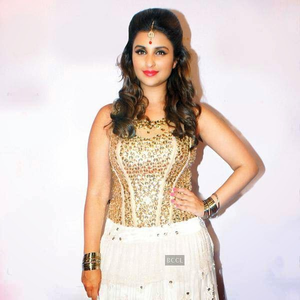 Parineeti Chopra at the International Indian Achiever's Awards 2014 (IIAA) organised by Poetic Justice Events and Entertainment Pvt Ltd held in Mumbai.