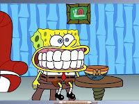 bob esponja dientes