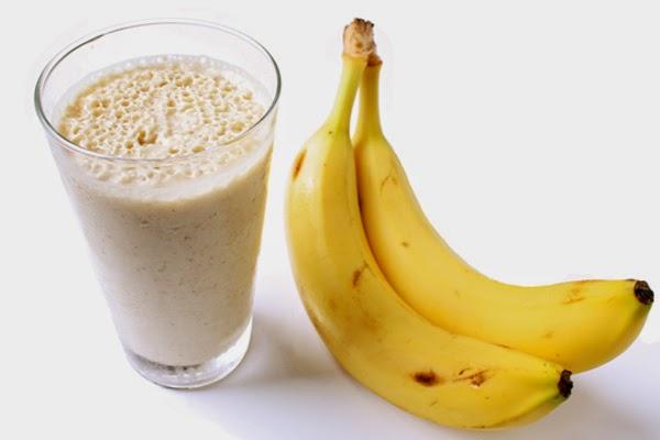 Vitamina de Banana com Canela