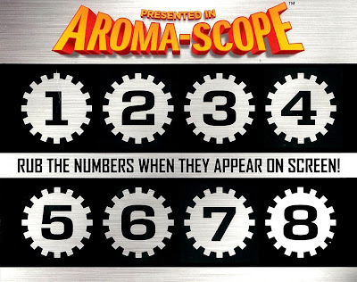 Spy Kids: All The Time In The World 4D Aroma-Scope Back