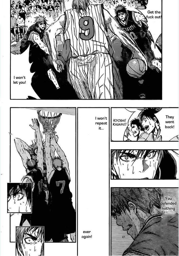 Kuroko no Basket Manga Chapter 157 - Image 12
