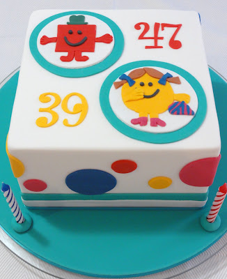 Ta daah! Magical Mr Men cake!