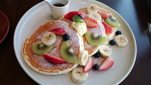 [写真]フルーツパンケーキ