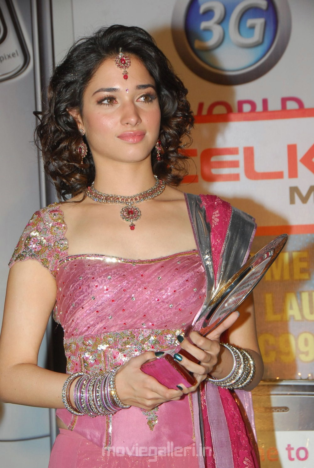 actress tamanna @ celkon c 999 3g mobile launch stills | new movie