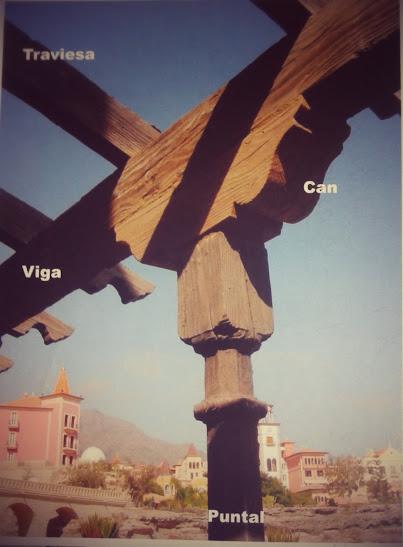 Oferta: Pérgola de hormigón imitación a madera antigua