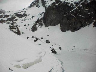 Avalanche Belledonne, secteur Grande Lance de Domène, Lac du Crozet - Photo 1