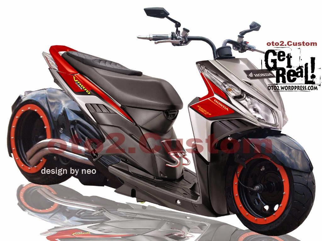 Kumpulan Modifikasi Motor Matik Vario 125 Terlengkap Kampong Motor