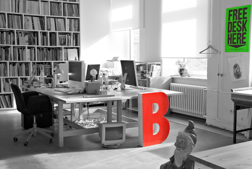 *FREE DESK HERE免費工作室辦公桌:在這裡! 3