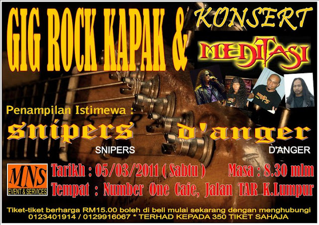 Event Gig Rock Kapak March 2011