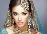 SMOKEY EYES indian wedding