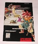Chrono Trigger - Manual portada