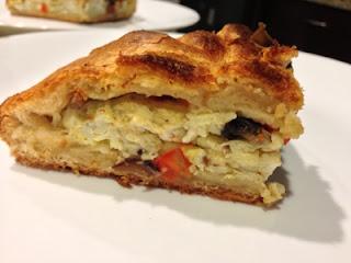 Omelette Pie Slice