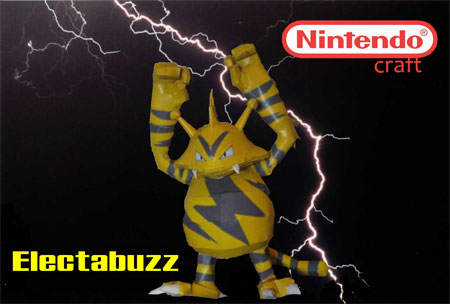 Pokemon Electabuzz Papercraft