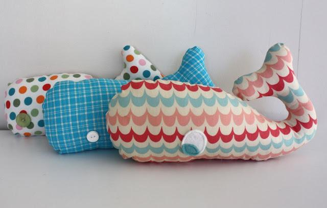 Whale Softie tutorial