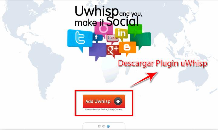uWhisp logo