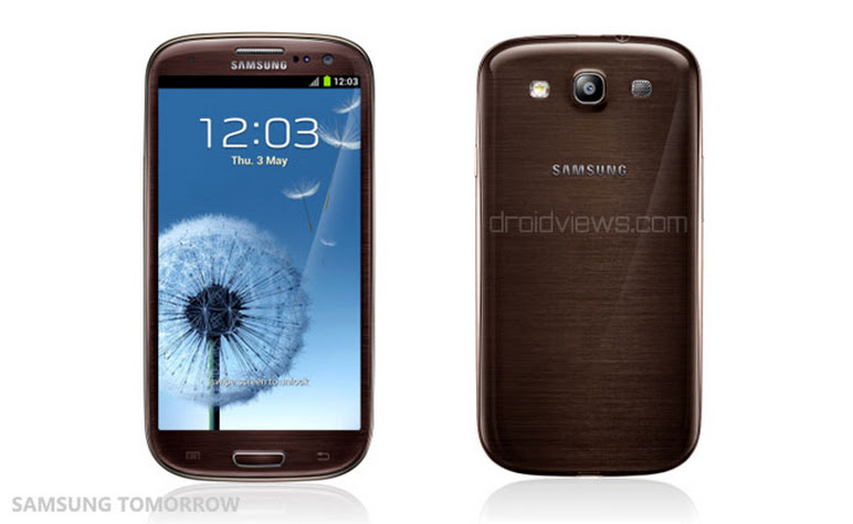 galaxy s3 amber brown