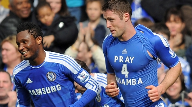 Gary Cahill, Chelsea - Leicester