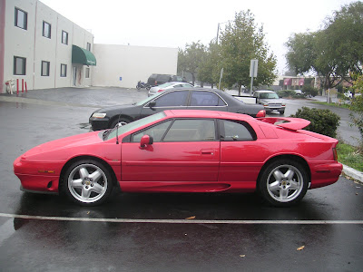 Lotus Esprit Turbo after autobody repair at Almost Everything