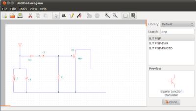 oregano 3 Software Simulasi Rangkaian Elektronika Open Source Terbaik Untuk GNU/Linux