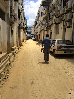 Kota Bharu keadaan berdebu dengan cuaca panas terik
