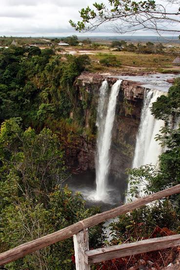 Santa Elena del Uairén - Cachoeiras