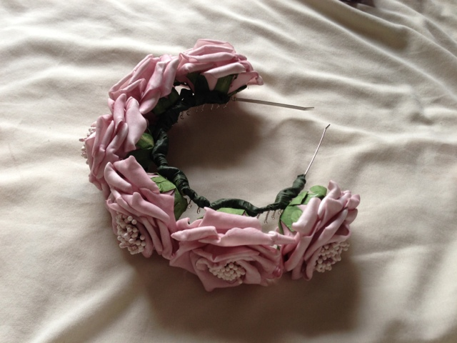 The Lost Lanes / Abigail's Tea Party Blooming Beautiful Flower Crown