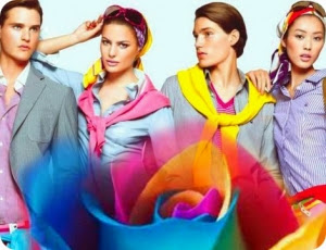 гармония цвета в одежде