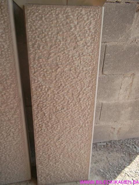 Špicani kamen za stepenice iz komada