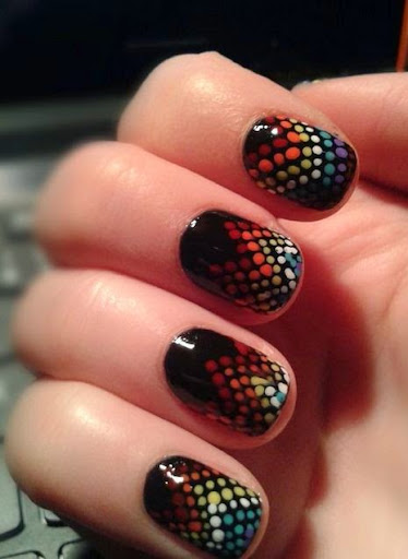 30 Attractive Dotted Nail Art Ideas In 2014 Be With Style Be