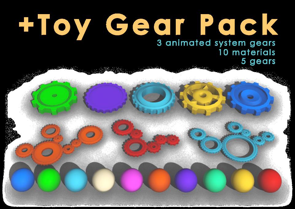 Toy Gear Logo Reveal - 4