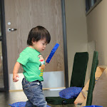 LePort Private School Irvine - Baby exploring Montessori materials