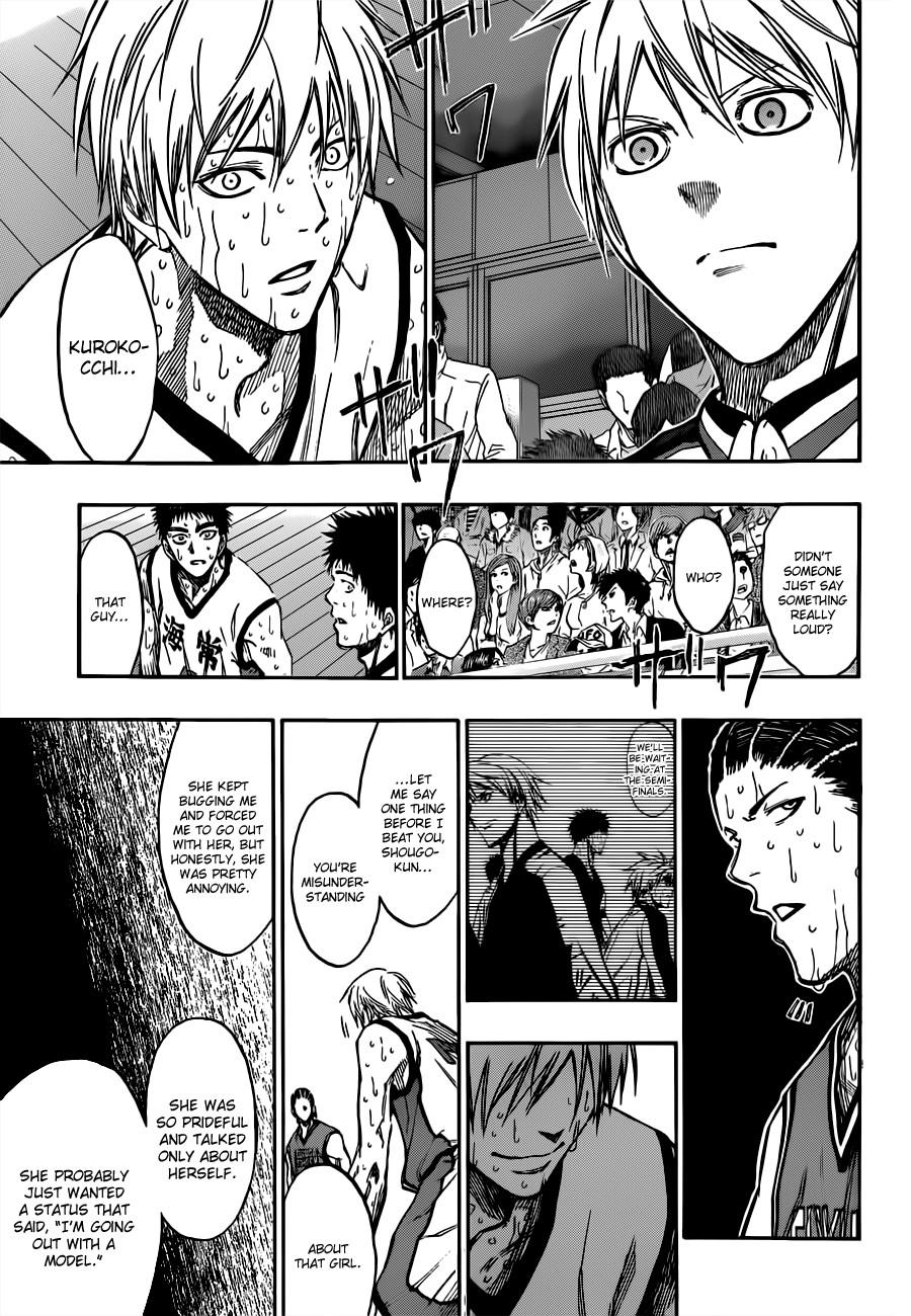 Kuroko no Basket Manga Chapter 172 - Image 15