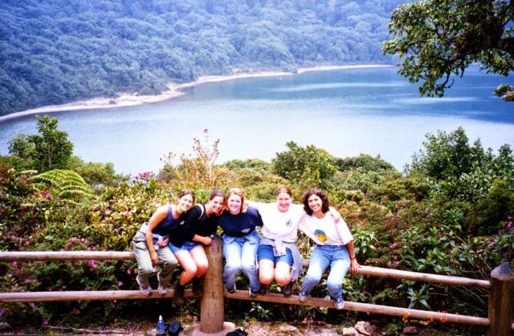 Kim and her friends traveled as often as they could while studying in Costa Rica, often taking spur-of-the-moment day trips to places nearby, like Poas Volcano National Park.